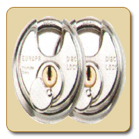 Dimple Key Disc Padlock